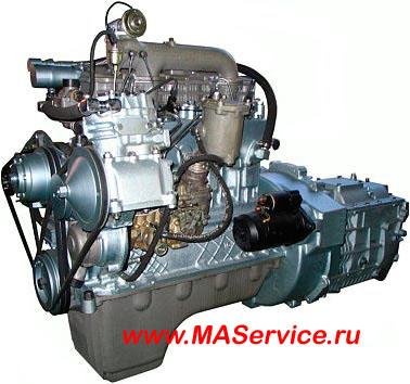 Замена двигателя Д-245 или