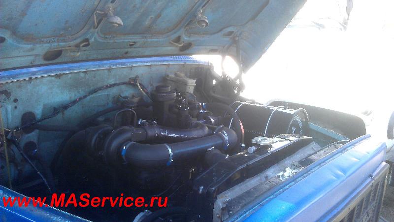 (ГАЗ-3307) двигателя с