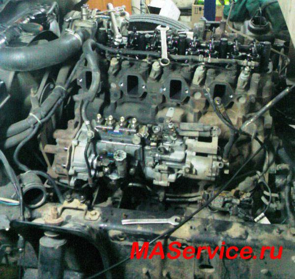Ремонт двигателя Hyundai HD-72